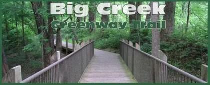 banner for Big Creek Greenway in Alpharetta