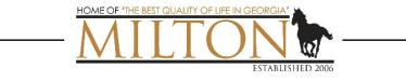 new Milton GA logo