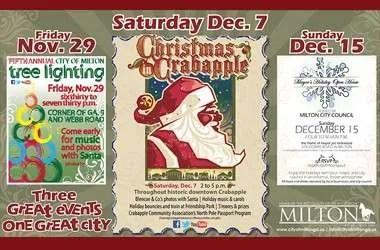 Christmas events for Milton GA