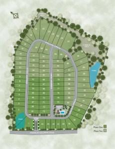 Post Oak Glen Site Plan
