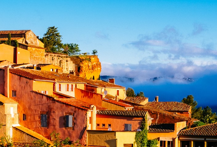 Morning in Roussillon