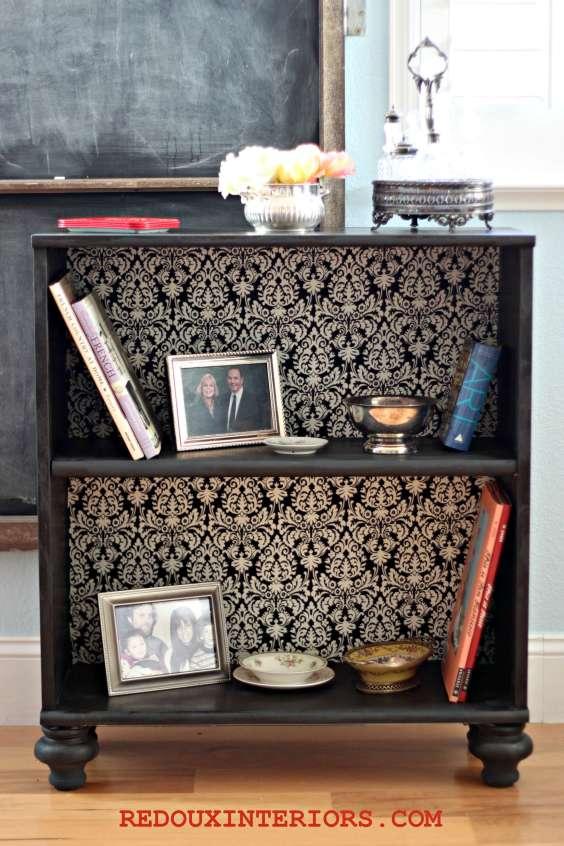 Ballards design knockoff from cheap bookshelf! redouxinteriors