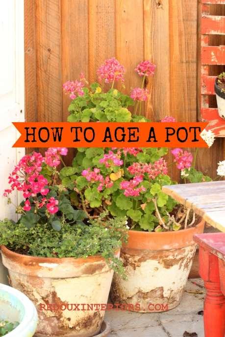 Aging Pots redouxinteriors