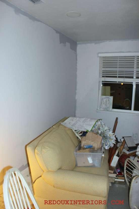 Office in progress paint
