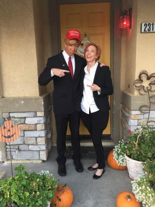 Mark and Karen Hillary and Donald