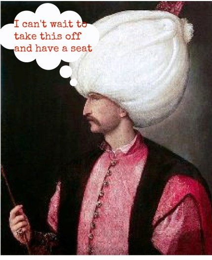 Suleiman the Mag with hat