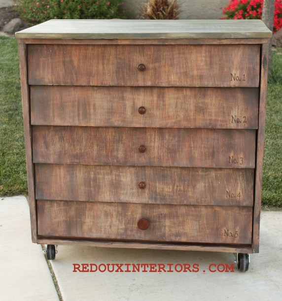 Shingle Dresser after 1
