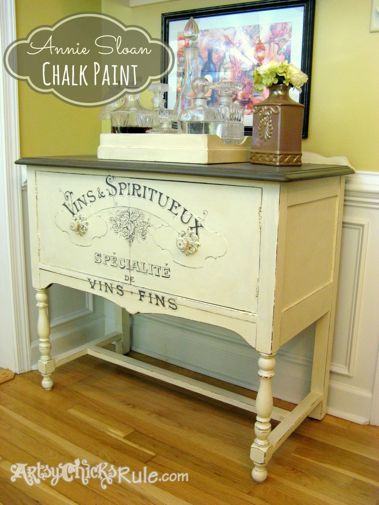 Antique-Sideboard-Makeover-Chalk-Paint-Graphics-768x1024