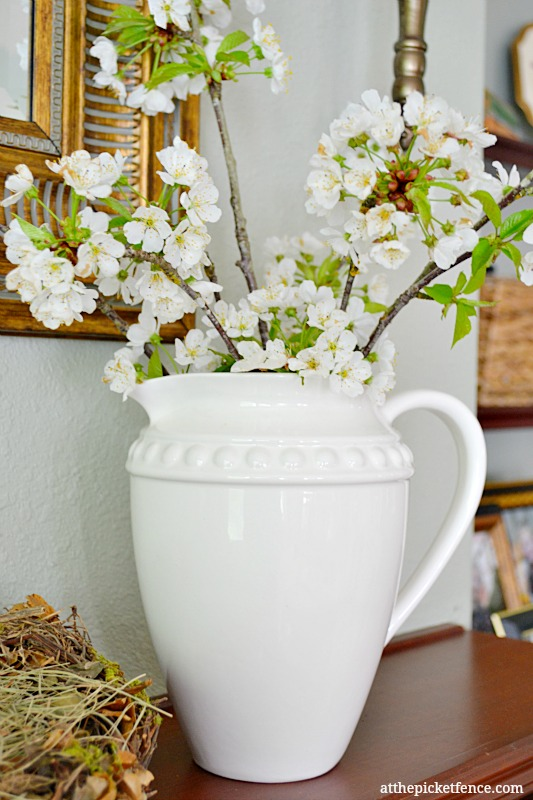 cherry-blossoms-in-white-pitcher-www.atthepicketfence.com_