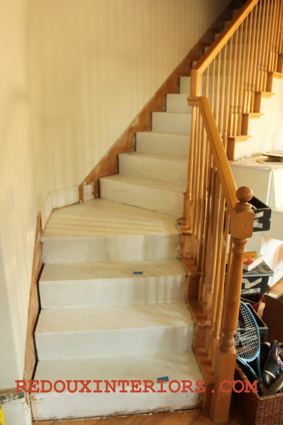 Stairs all primed - Copy