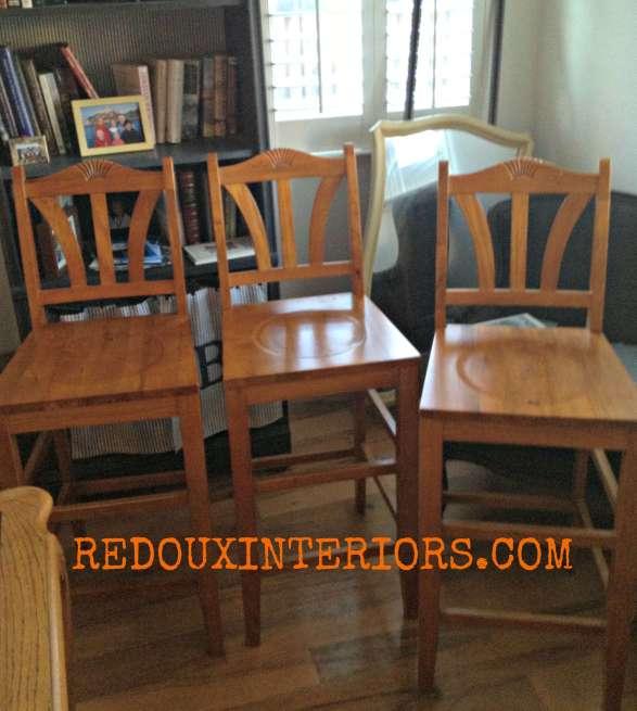 Free bar stools Redouxinteriors