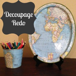 Map decoupage The Craft Dictator
