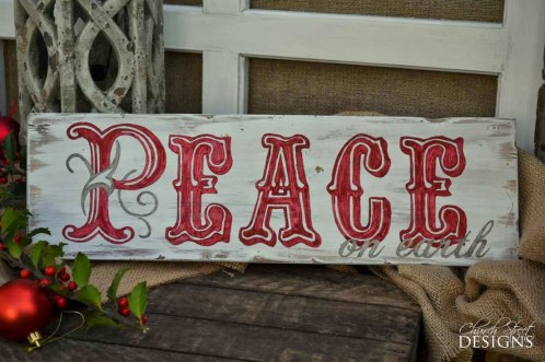 Peace-On-earth-Vintage-Sign