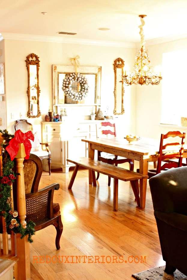Christmas Dining Room Redouxinteriors