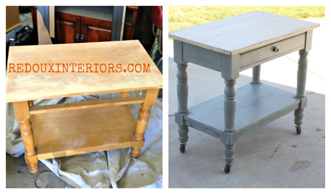 Before After Rolling Table