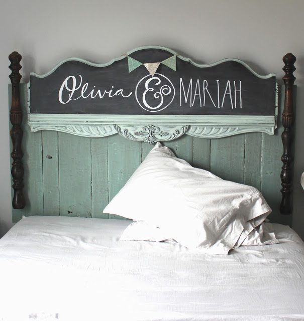 DIY Headboard Namelyoriginal