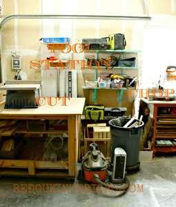 Garage Organized using Junk. Part Deux