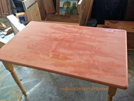 Georgia Clay on farm table
