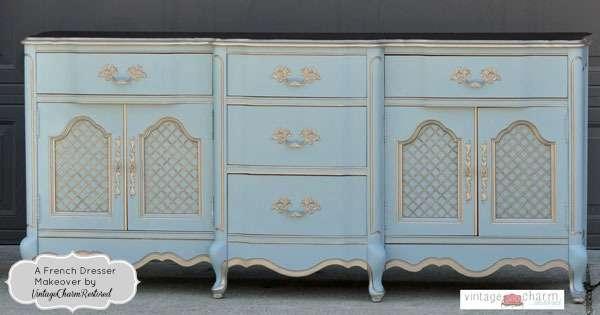 Vintage Charm restored dresser