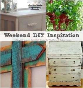 Weekend DIY Inspiration, Girlfriend's DIY week 3!