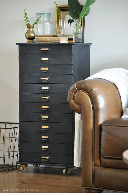 Painted Hive furniture hack