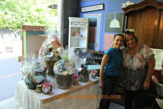 cece caldwells fundraiser paris flea 2014 gift baskets redouxinteriors