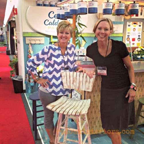 painted bar stool at americas mart redouxinteriors