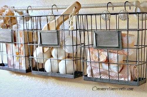 Bathroom Wire Baskets
