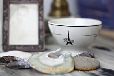 Sea shells and memorabilia redouxinteriors