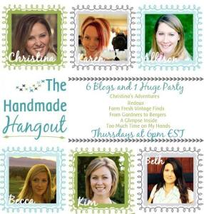 Best DIY Link Party at The Handmade Hangout Week 13