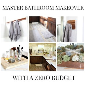 Master Bathroom Makeover How To Paint a Sub Floor