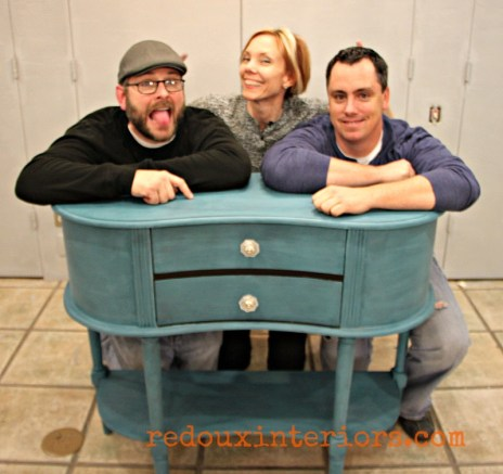 Thomasville Teal love CeCe Caldwells sideboard redouxinteriors