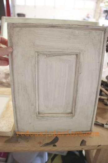 sample cabinet door turned makeup tray before redouxinteriors