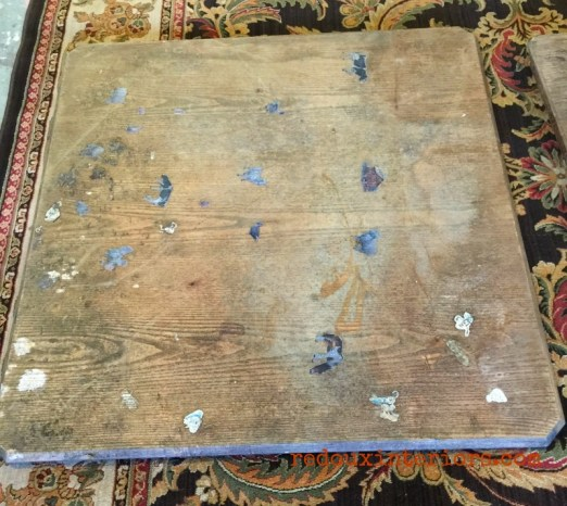 dumspter table top redouxinteriors