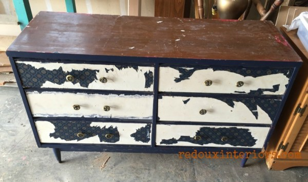 midcentury dresser dumped before redouxinteriors