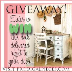Furniture Giveaway with Prodigal Pieces