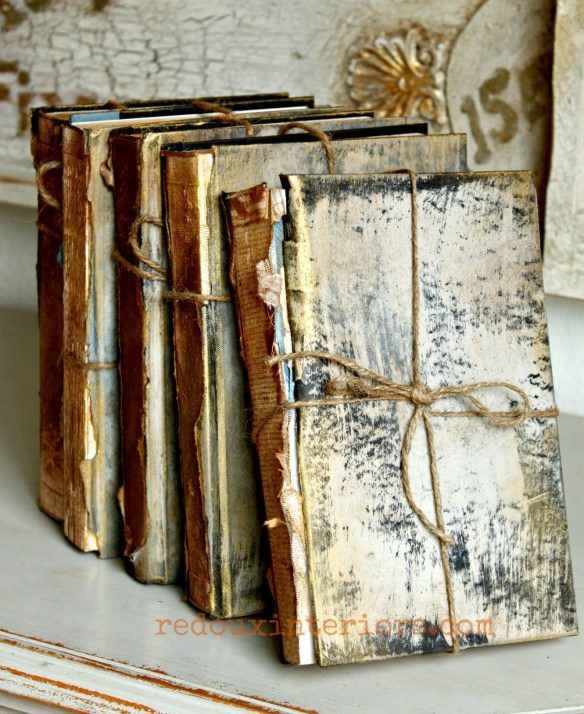 Antiqued-books-front-with-cece-caldwells-paints-redouxinteriors