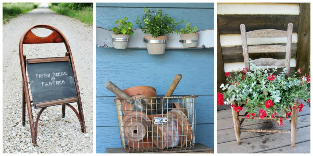 Country Living Broken Chairs