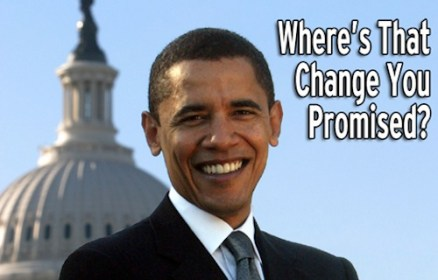 Barack No Change Obama