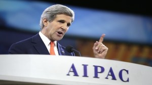 Secretary Of State John Kerry Addresses AIPAC Policy Conference