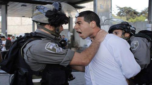 Jerusalem repression