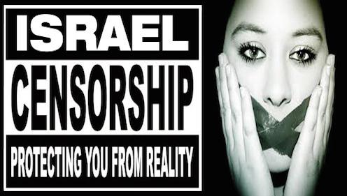 Pro-Israel censorship