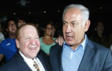 Sheldon Adelson and Binyamin Netanyahu