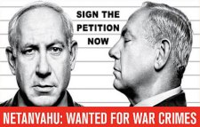 Arrest Netanyahu for war crimes