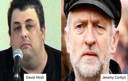 David Hirsh and Jeremy Corbyn