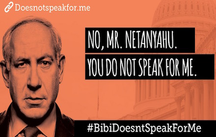 Netanyahu does not speak for me