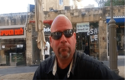 Tzion - Jewish father suffering injustice in Israel