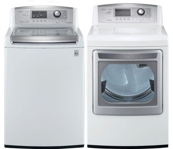 Lg Front Load Washer And Dryer 2015 2015 Greeting Cards