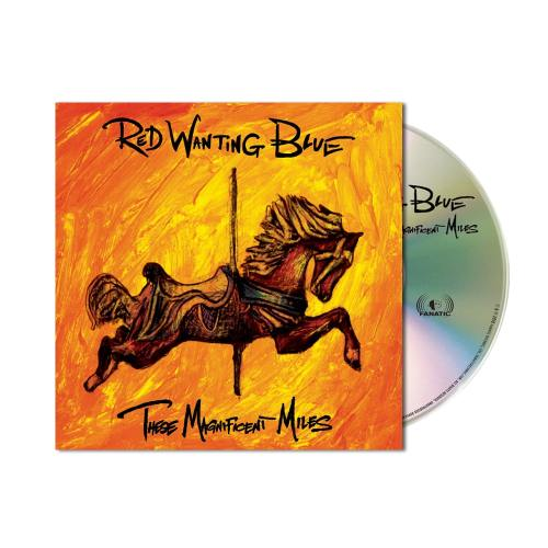 Red Wanting Blue These Magnificent Miles CD