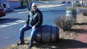 Neil at Westbend Vineyards and Brewhouse